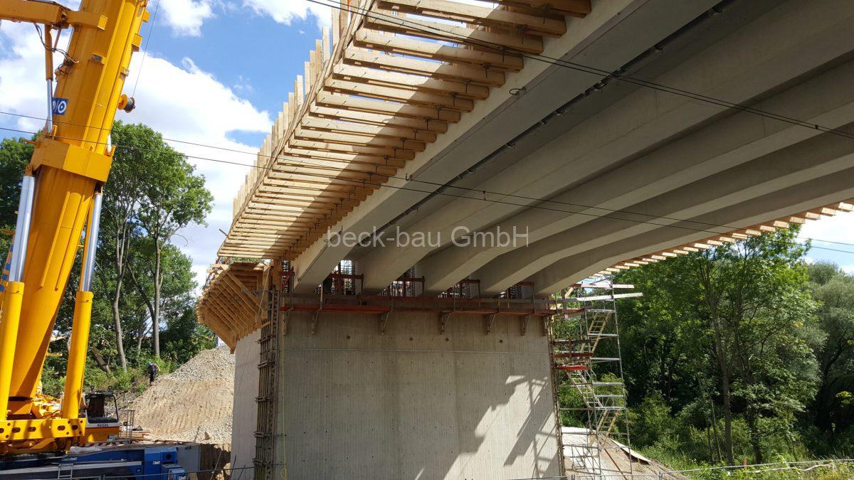 Brückenbau beck-bau in Neu-Eichenberg B80