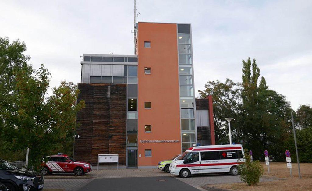 beck-bau Hochbau Gefahrenabwehrzentrum Eschwege