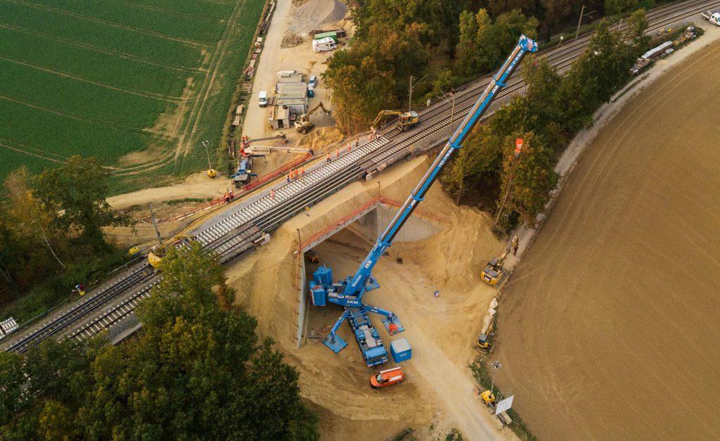beck-bau Artlkofen Eisenbahnbrücke Betonbau DB AG