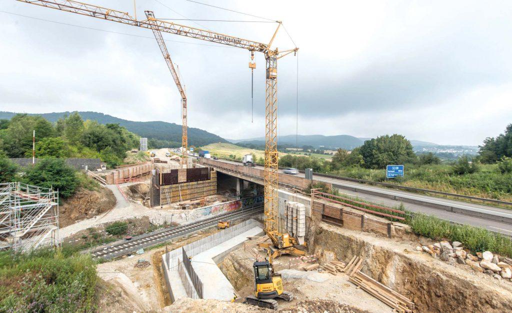beck-bau Betonbau A44 Kassel-Baunatal