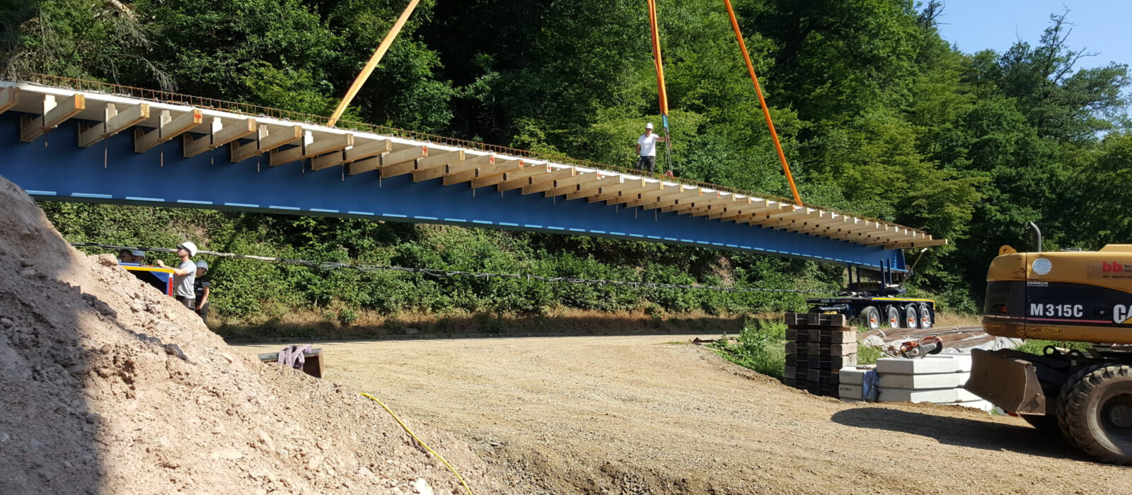 Brückenbau beck-bau in Büchenwerra