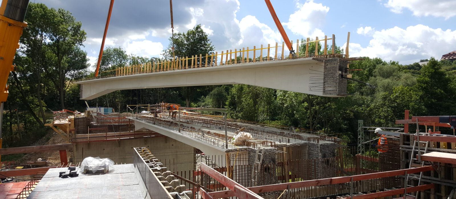 Baustelle Neu Eichenberg - beck-bau